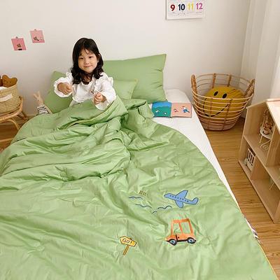 2020新款秋冬新品儿童被被子被芯 150x200cm重5.6斤 草绿