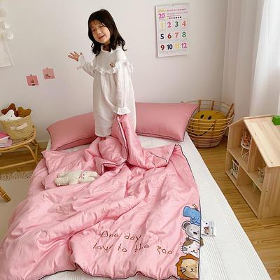 2020新款秋冬新品儿童被被子被芯 150x200cm重5.6斤 粉色