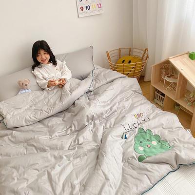 2020新款秋冬新品儿童被被子被芯 150x200cm重5.6斤 灰色