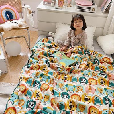 2021新款长绒棉儿童夏被 150x200cm 熊猫