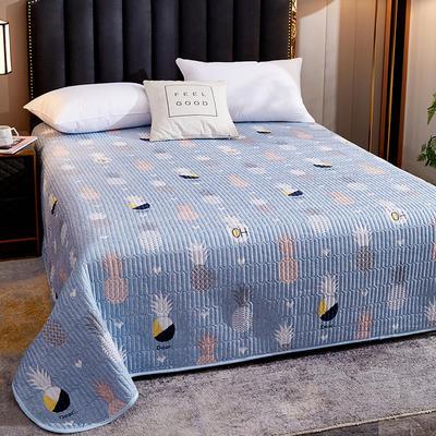 2020新款单双人夏凉被夏被空调被可水洗床盖 150cmx200cm 菠萝