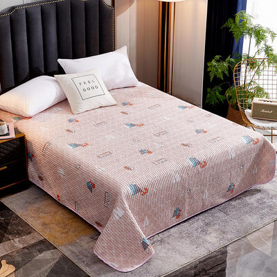 2020新款单双人夏凉被夏被空调被可水洗床盖 150cmx200cm 狐狸