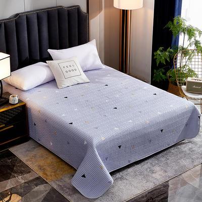 2020新款单双人夏凉被夏被空调被可水洗床盖 150cmx200cm 几何空间