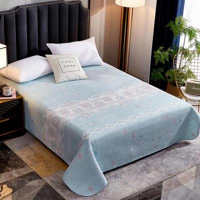 2020新款单双人夏凉被夏被空调被可水洗床盖 150cmx200cm 圣诞小树