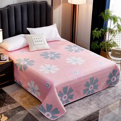 2020新款单双人夏凉被夏被空调被可水洗床盖 150cmx200cm 太阳花