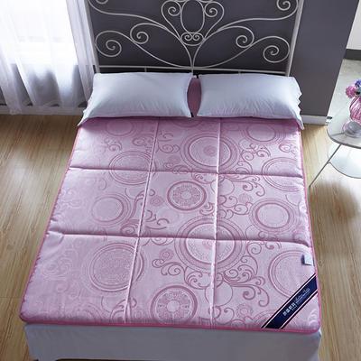 2019新款-冰丝凉席床垫 0.6*1.2米 粉