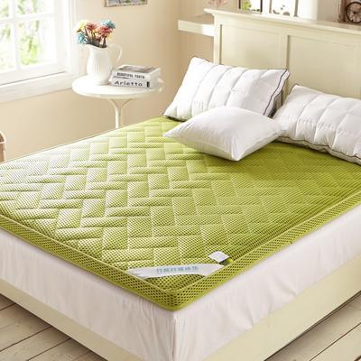 2019新款-4D竹炭立体床垫 0.6*1.2米 绿色