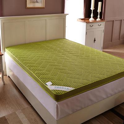 2019新款-4D竹炭立体透气床垫 0.9*2.0米 绿