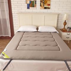 2018新款-针织透气竹炭床垫 1.2*2.0米 灰色