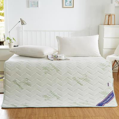 2019新款-竹纤维记忆慢回弹两用床垫 0.9*2.0米 竹纤维