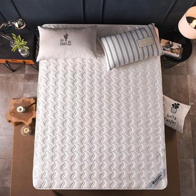 2019新款-英威达全棉抗菌床垫(薄款) 0.9*2.0米 白色