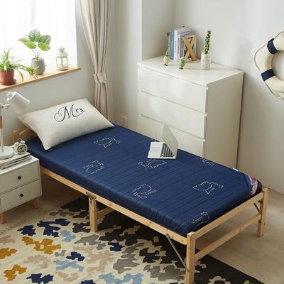 2019新款-针织乳胶床垫(10cm) 0.9*2.0/0.9*1.9 吉象如意