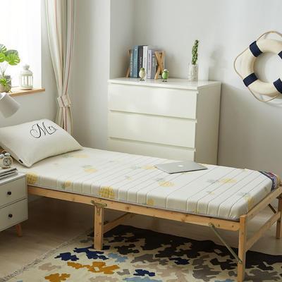 2019新款-针织乳胶床垫(10cm) 0.9*2.0/0.9*1.9 炫彩菠萝