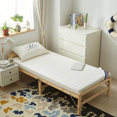 2019新款-针织乳胶床垫(10cm) 0.9*2.0/0.9*1.9 月光白