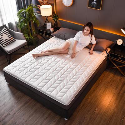 2020新款全棉防水乳胶床垫 0.9*2.0(4.5厘米) 空间-白