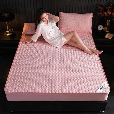 2020新款-乳胶床笠纯色 1.2*2.0 粉色