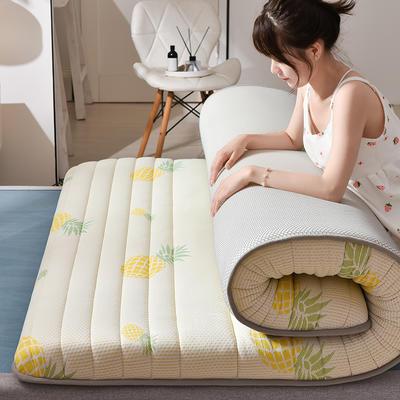 2020乳胶三明治加厚床垫(2) 0.9*2.0 炫彩菠萝10cm