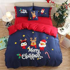 新款长绒棉专版圣诞套件 小号(1.35m床及以下) 圣诞