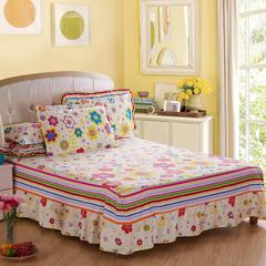 特价花型单床裙 120cmx200cm+45cm 艾米丽