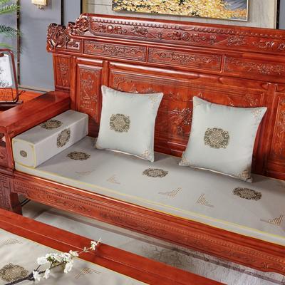 2020新款中式沙发垫 每平方(单套子,不含海绵) 福禄灰