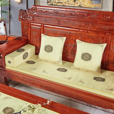 2020新款中式沙发垫 每平方(单套子,不含海绵) 福禄米色
