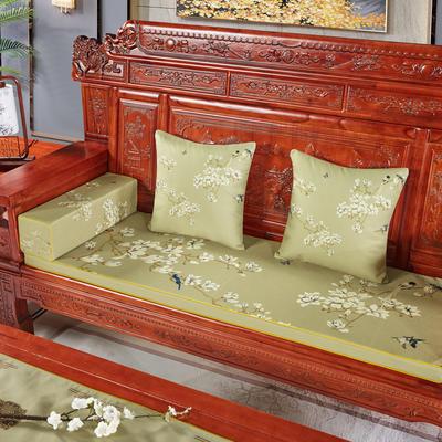 2020新款中式沙发垫(3) 每平方(单套子,不含海绵) 翠玉兰