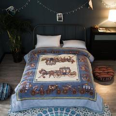 凯轩毛毯  仿羊毛轻奢毯,精品毯,毛毯,婚庆毯,保暖毯, 200*230 皇室至尊