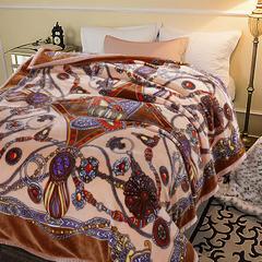 凯轩毛毯, 西班牙盖毯,保暖毯,毛毯,婚庆毯,礼品毯, 200*230 异域风情