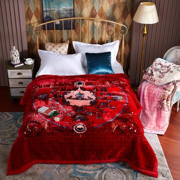 凯轩毛毯 爱玛系列云毯,毛毯,保暖毯,婚庆毯,