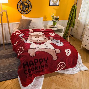云毯系列 单人云毯,毛毯,保暖毯,学生毯,