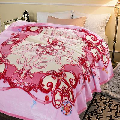 超柔,云毯, 西班牙盖毯,保暖毯,毛毯,精品毯,婚庆毯 200cmx230cm 粉色之恋