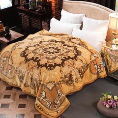 凯轩毛毯,泽西兔毯 双层超柔云毯,毛毯,婚庆,保暖毯,精品毯 200cmx230cm 布鲁萨尔