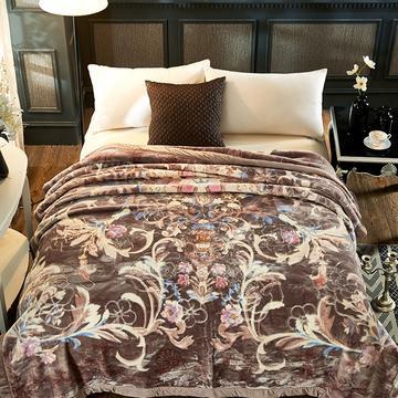 新款5D压花精品天丝云毯.精品毯,高档毛毯,婚庆毯,保暖毯