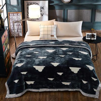 双人拉舍尔毛毯,保暖毯,婚庆毯,毛毯,精品毯大红,结婚毯 180cm*220cm 云之梦
