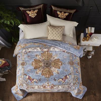 2019新款-年仿羊毛阿尔巴卡毯毛毯,云毯,精品毯,高档毛毯,婚庆毯, 200cmx230cm 至尊时尚