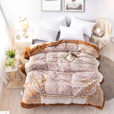 2019新款-年仿羊毛阿尔巴卡毯毛毯,云毯,精品毯,高档毛毯,婚庆毯, 200cmx230cm 贝格尔