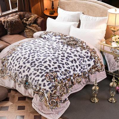 新款泽西兔毯.毛毯.保暖毯大红.结婚.婚庆毯 190*225(双层) 都柏林