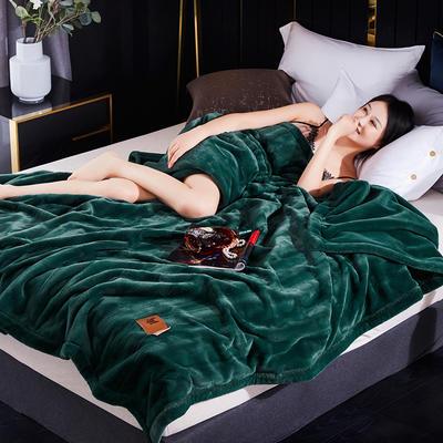 新款精品仿毛皮盖毯.婚庆毯.毛毯.保暖毯大红.结婚毯 200cmx230cm 孔雀绿