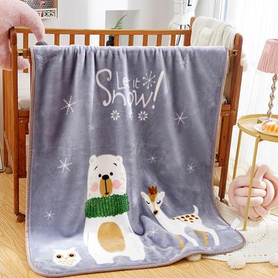 精品兒童云毯  學生毛毯.毛毯.保暖毯 110x140cm 一家親