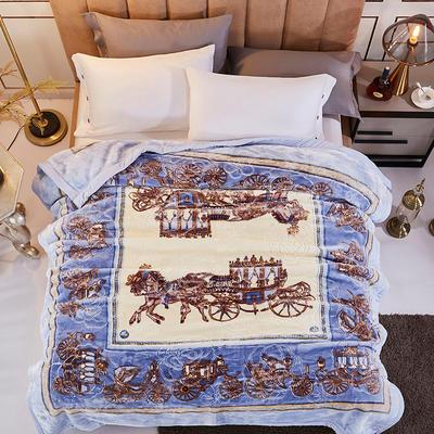 新款5D压花精品天丝云毯.精品毯,高档毛毯,婚庆毯,大红结婚保暖毯 200cmX230cm(2.8公斤) 罗马风情