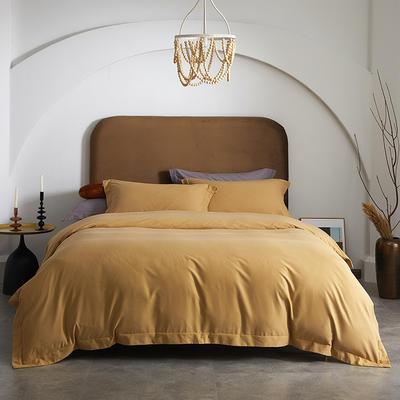 80支全棉磨毛抑菌功能四件套悦系列 1.2m(4英尺)床 磨毛-鹿角棕