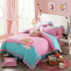 睡睡羊活性绣花系列《白雪公主》会员款 150X205