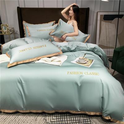 2020新款洛卡棉系列四件套-潮 1.8m床单款四件套 潮-梵星蓝
