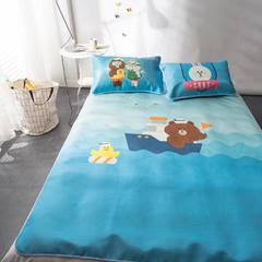 2017 新款冰丝席系列 1.5m(5英尺)床 cony兔&Brown熊