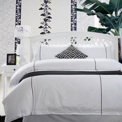 涞乐酒店贡缎系列 1.8m(6英尺)床 咖啡牙条