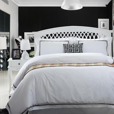 60贡缎酒店系列四件套 标准(1.5m-1.8m床) 奥黛丽臻品