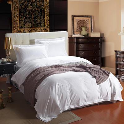60贡缎酒店系列四件套 标准(1.5m-1.8m床) 羽翼