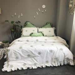 2018新品水洗棉系类系列四件套 1.5m(5英尺)床 小家碧玉