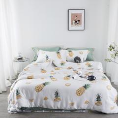 2018新款60S天丝系列四件套 1.5m(5英尺)床 菠萝