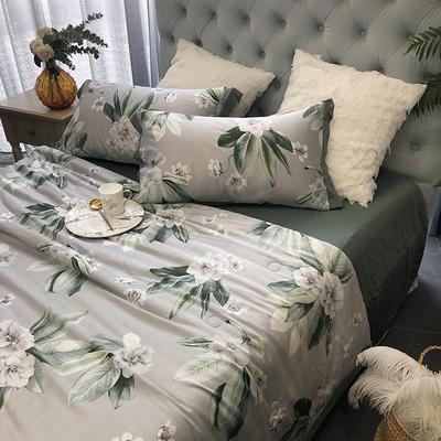 涞乐天丝夏被四件套双面莱赛尔纤维60支,夏被+床单+枕套一对,可单买 标准(200*230) 沁园